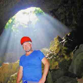 Der blaue Grottenmolch