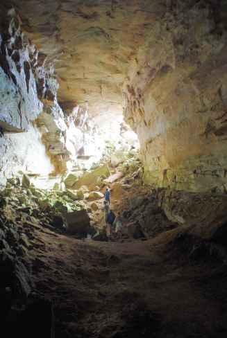 Wieder mal Höhlenmenschen