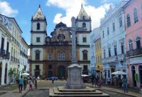Im Pelourinho steht (alte) Kirche an (alter) Kirche