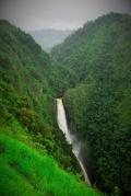 Der höchste Wasser fall Kolumbiens, ca. 400 Meter tief