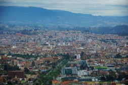 Blick auf Cuenca.