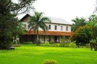 Das erste Gemeindehaus der Siedler