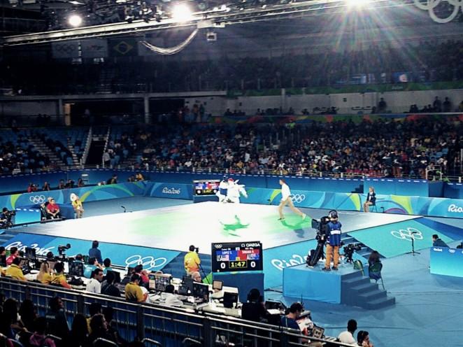 In der Taekwondo-Halle