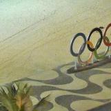 AN der Copacabana findet Beachvolleyball und ich glaube Triathlon und Radrennen statt.