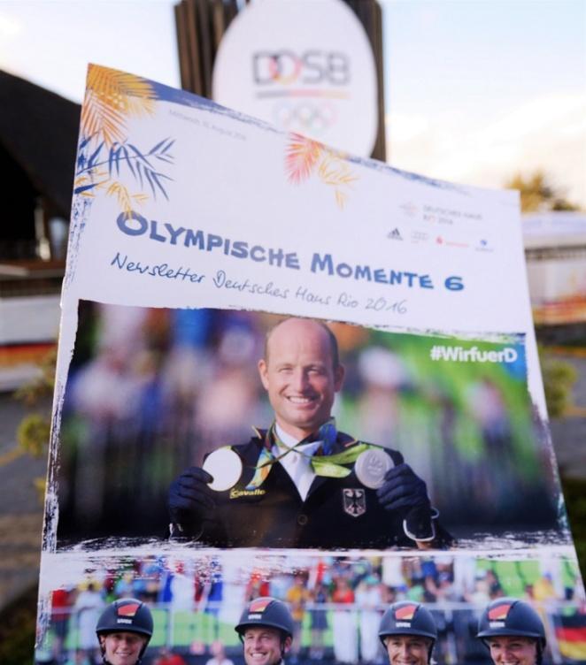 """Der tägliche Newsletter """"Olympische Momente"""""""
