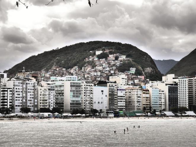 Blick auf Copacabana