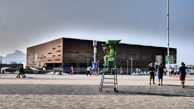 Arena del Futuro, übrigens gegenüber dem Schwimmstadion