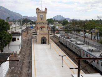 Der Bahnhof in Deodoro.