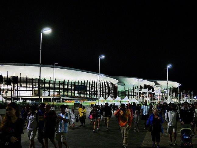 Die drei Carioca-Arenen mit Taekwondo, Ringen, Fechten, manchmal wohl Basketball