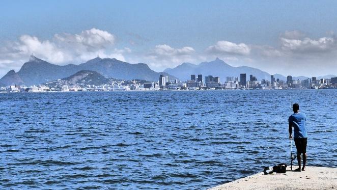 Blick auf Rio von Niteroi