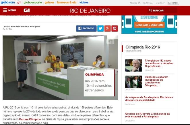 O Globo Voluntario